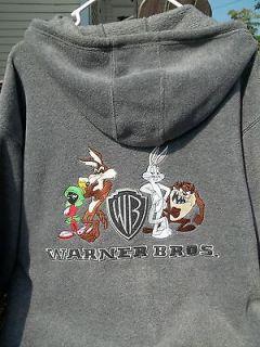 Warner Bros. Bugs Bunny, Martian, Coyote and Taz. Devil Fleece Jacket