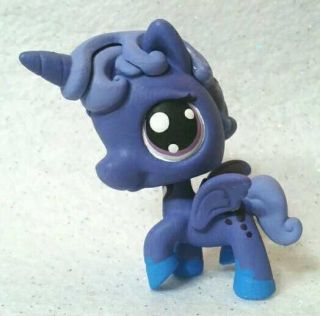 Luna * Custom Hand Painted Littlest Pet Shop My Little Pony