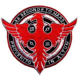 30 Seconds to Mars Phoenix Fire Music Rock Shirt Iron Patch