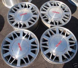 15 Chevrolet S10 S15 Blazer Sonoma wheels rims 4x4 OEM