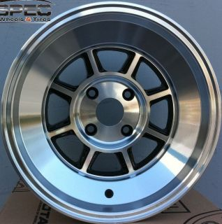 15X9 ROTA SHAKTAN 4X114.3 +0 FULL ROYAL BLACK FITS AE86 280Z 240SX