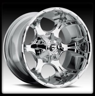 20 FUEL DUNE CHROME WHEELS RIMS & BFG BFGOODRICH LT 285 65 20 TA KO A