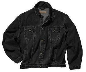 black denim jacket in Mens Clothing