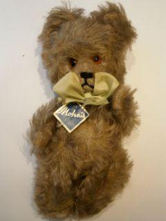TOY MOHAIR HUGE EARLY TEDDY BEAR HUMP STEIFF BING GLASS EYES 1930s