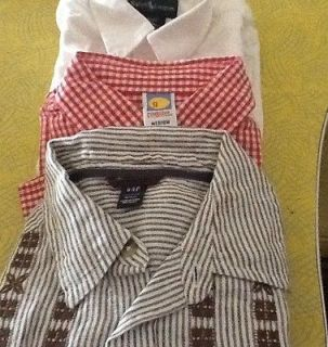 Boys DRESS SHIRTS Size 4/4T (3 In Lot) Ralph Lauren, GAP & GYMBOREE