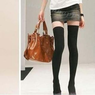 knit thigh high socks in Hosiery & Socks