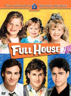 Full House   The Complete Second Season (DVD, 2005, 4 Disc Set)