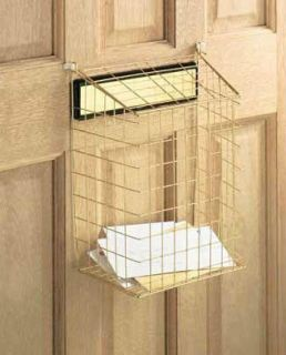EXTRA LARGE WHITE LETTER BOX DOOR CAGE / GUARD, PROTECT MAIL / POST