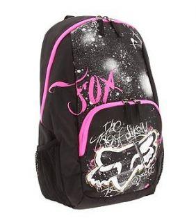 NEW FOX RACING Hot Pink/Black Backpack Bag Purse