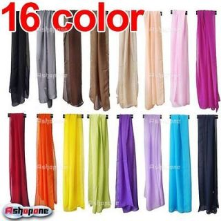 New Large Long Chiffon Feel Fashion Neck Head Scarf