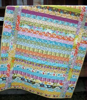 QUILT PATTERN Jelly Roll or Strip Quilt easy and quick