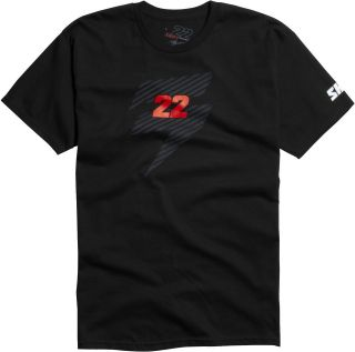 Shift Racing Chad Reed Black Short Sleeve Tee Two Two Motorsports 22 T