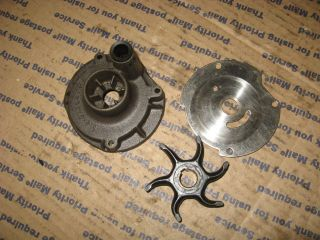 1957 FD 11 18 hp johnson seahorse outboard WATER PUMP HOUSING