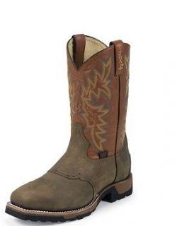 Mens Tony Lama TW1052 Steel Square toe work boot