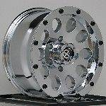 15 inch Chrome Wheels Rims Jeep Wrangler Cherokee Ford Ranger 5 Lug