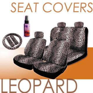 leopard print car seat covers in Seat Covers