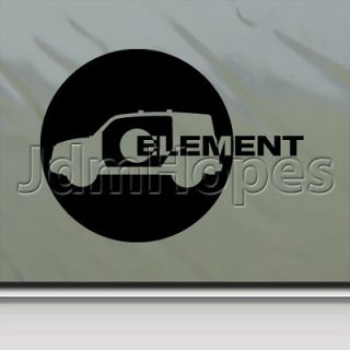 Honda Element Decal Car Truck Bumper Window Sticker