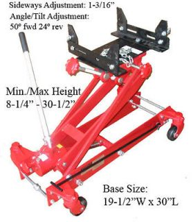 TON Low Profile Lift Transmission Floor Jack 2000LBS *