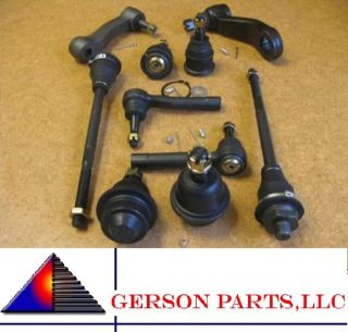 Outer Tie Rod End Upper Lower Ball Joint Hummer H2 Pitman & Idler Arm