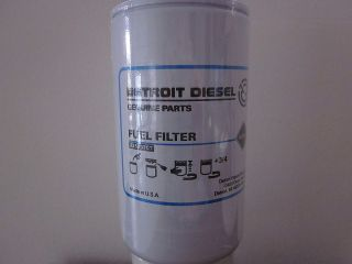 detroit diesel fuel filter in Car & Truck Parts