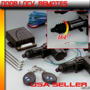 remotes CAR UNIVERSAL ELECTRIC POWER DOOR LOCK / Power Door Lock Kit