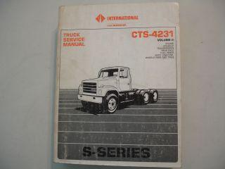 international truck shop manual