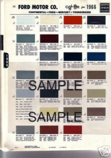 1964 1965 1967 1968 1969 CHEVROLET DODGE TRUCK VANS PICKUP PAINT CHIPS