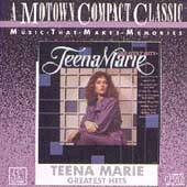 Greatest Hits Motown by Teena Marie Cassette, Feb 1989, Motown Record