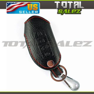 Leather Nissan Infiniti Smart Key Holder Case Keyless Remote Fob