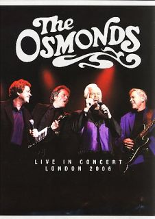 The Osmonds   Live in Concert DVD, 2006