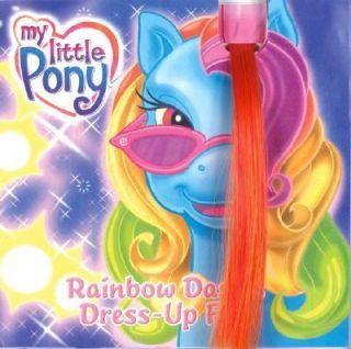 Rainbow Dashs Dress Up Fun by Ann Marie Capalija 2004, Hardcover