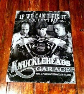 1950s Style Knuckleheads Garage (Fits Harley Davidson Street Glide