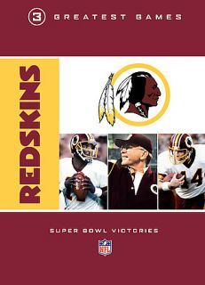 NFL Greatest Games Series Washington Redskins 3 Greatest Games Super