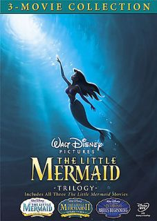 Little Mermaid Trilogy Gift Set DVD, 2008