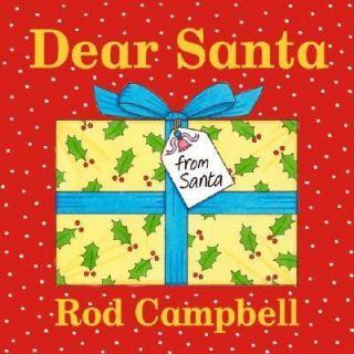 Dear Santa by Rod Campbell 2004, Board Book