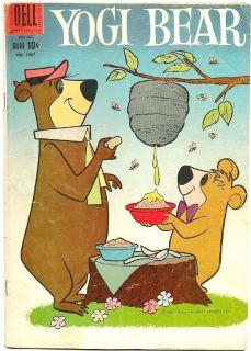 1959 Yogi Bear #1, #1067 CLASSIC HANNA BARBERA FUN GREAT FOUR COLOR