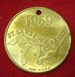 1959 St.Lawrence Seaway, Seagrams VO, Imported Canadian