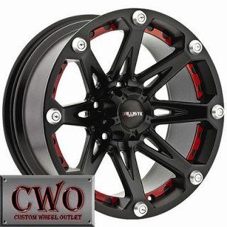 17 Black Ballistic Jester Wheels Rims 8x170 8 Lug Ford F250 F350 Super