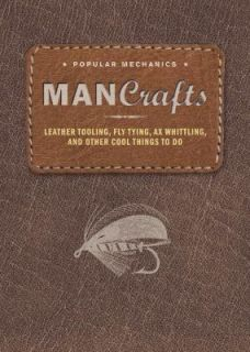 Man Crafts Leather Tooling, Fly Tying, Ax Whittling, and Other Cool