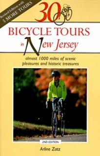 30 Bicycle Tours in New Jersey Almost 1000 Miles of Scenic Pleasures