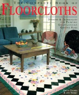 Canvas Rugs by Jan Hersey and Kathy Cooper 2002, Paperback