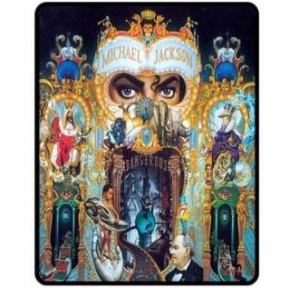 New Michael Jackson Dangerous Fleece Blanket Bed Gift