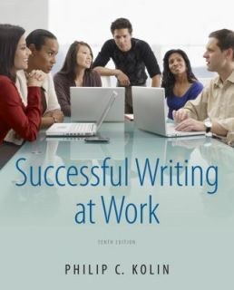 Successful Writing at Work by Philip C. Kolin 2012, Paperback