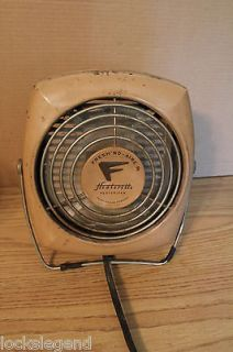 Vintage Fresh nd aire Heaterette Heater Floor Fan WORKS~!