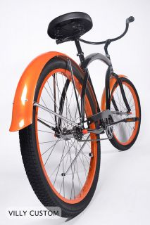 Blaise   A Villy Custom Beach Cruiser Bicycle / Bike