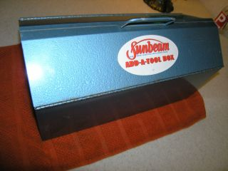 Vintage Sunbeam Tool Box Chicago 50 Electric Sander Saw Add a Tool
