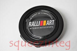RALLIART HORN BUTTON MITSUBISHI STEERING WHEEL SPARCO MOMO NARDI