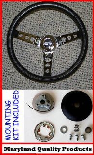 Newly listed CHEVELLE CAMARO NOVA SS CAP GRANT BLACK STEERING WHEEL 13