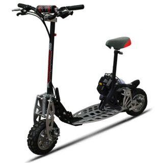 New 49cc kids childrens blue gas powered motor scooter for Gas powered motorized scooter