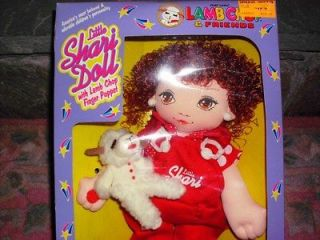 LITTLE SHARI LEWIS DOLL WITH LAMB CHOP MIB COLLECTOR QUALITY BOX  SO